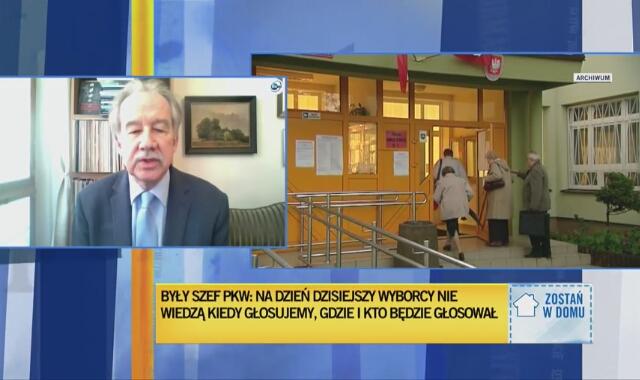 Były szef PKW Wojciech Hermeliński o wyborach