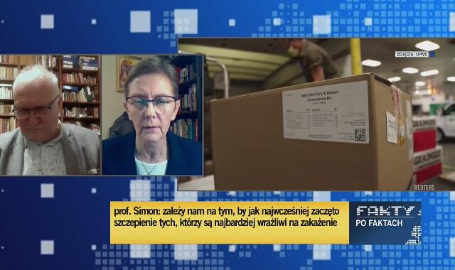 Prof. Zajkowska: warunkiem dopuszczenia tych szczepionek jest możliwość wygenerowania odporności co najmniej na 6 miesięcy