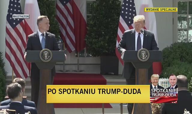 Trump: podczas spotkania potwierdziliśmy wagę naszego sojuszu